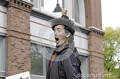 #OWS Burlington Vermont 4 Editorial Photography