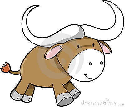 Ox Vector Illustration Royalty Free Stock Photo - Image: 4014625