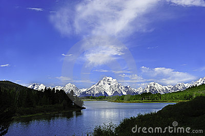 Oxbow Bend Stock Images - Image: 21893114