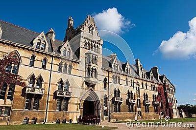 Oxford. Christ Church College