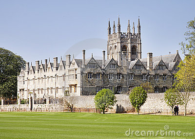 Oxford City in England