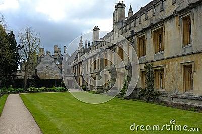 Oxford college exterior