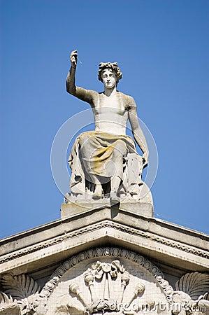 Oxford för apollo ashmoleonmuseum staty