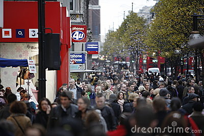 Oxford Street Editorial Photography