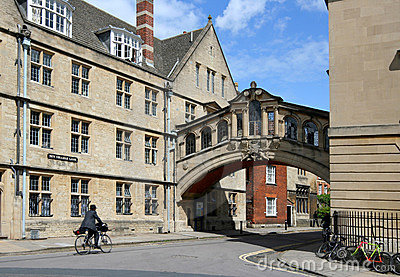 Oxford University Editorial Stock Image