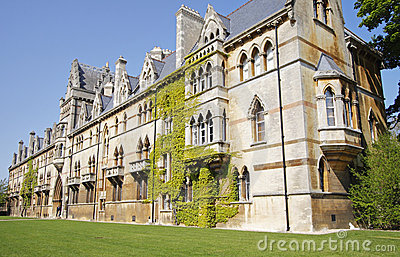 Oxford University Buildings in England