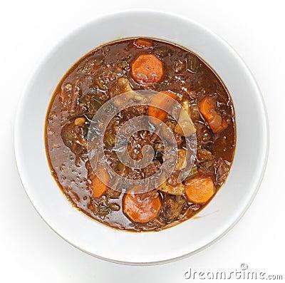 OXtail stew υψηλή γωνία
