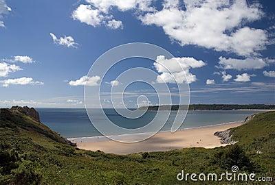 Oxwich bay - Gower peninsula. Wales