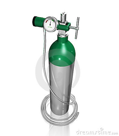 Royalty Free Stock Photos Oxygen Cylinder Image22002868 on cartoon oxygen tank