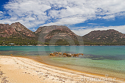Oyster Bay in Tasmania