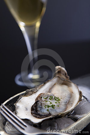 Free Oyster On Ice Stock Photos - 11144703