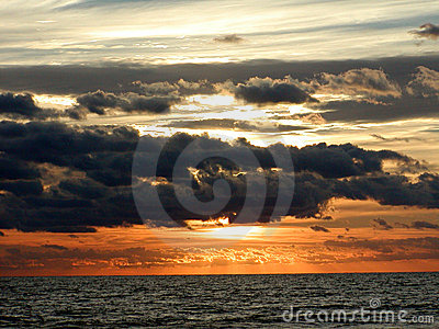 Ozean-Sonnenaufgang-Horizont 2