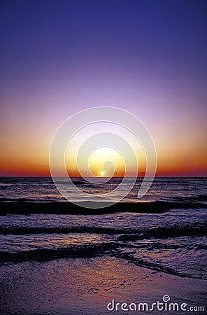 Ozeansonnenaufgang