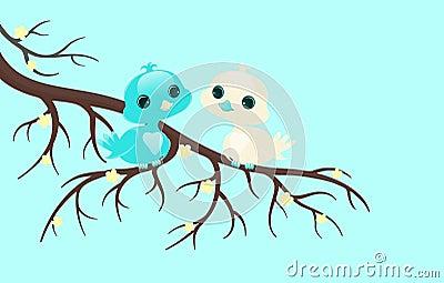 Pájaros bonitos.