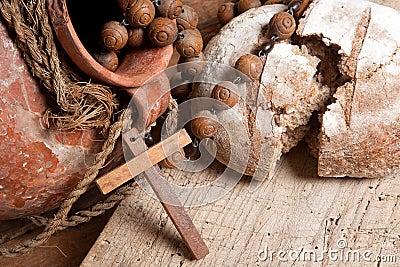 Pão e vinho para Jesus