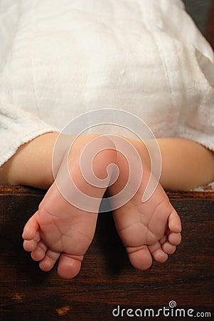 Pés do bebê