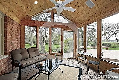 P rtico con muebles del hierro labrado - Muebles portico ...