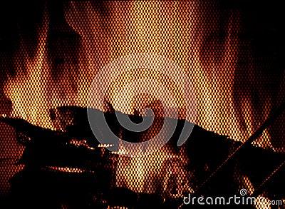 Płonie