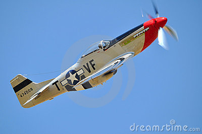 P-51 Mustang Editorial Image