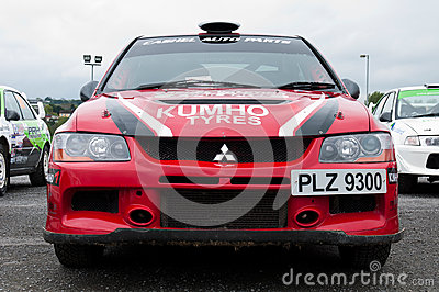 P. O  Connell Mitsubishi Evo Editorial Stock Photo