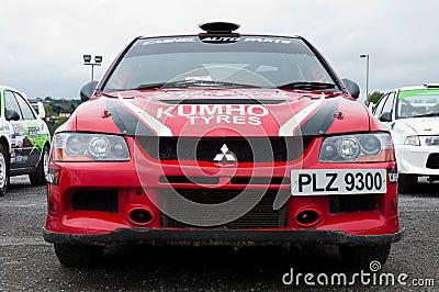 P. O  Connell Mitsubishi Evo Editorial Stock Photo