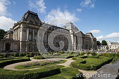 Pałac królewski, Bruksela