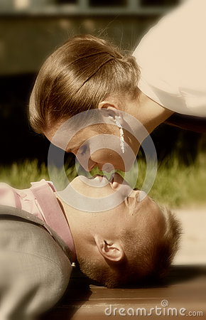 Państwo młodzi buziak