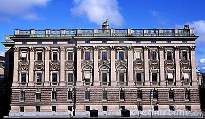 Pałac Stockholm Szwecji