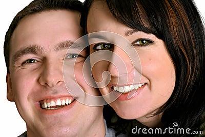 Paar - Glimlach