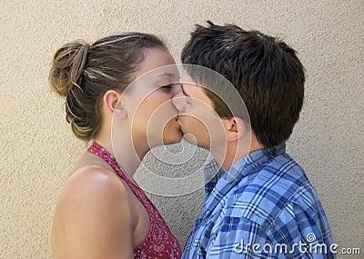 Paar-Küssen