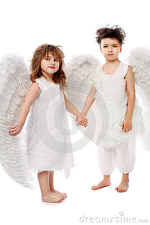 Paare von Engeln