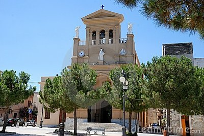 Paceco( Sicily) - Cathedral Church,