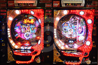 Pachinko Editorial Stock Photo