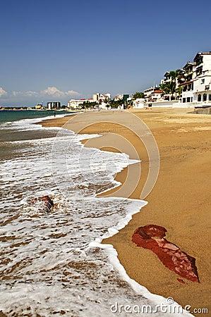 Pacific coast of Mexico