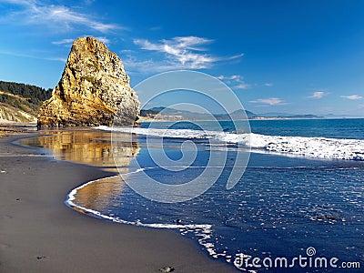 Pacific Ocean Coastal Landscape, Cape Blanco Oregon