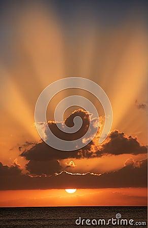 Pacific sunset (Hawaii)