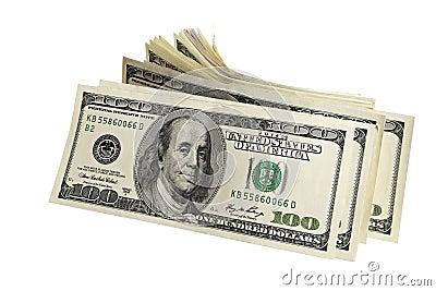 Pack of American money