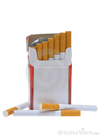 Pack of cigarettes.