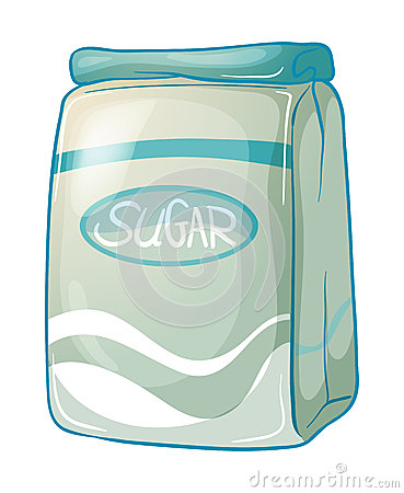 A pack of sugar