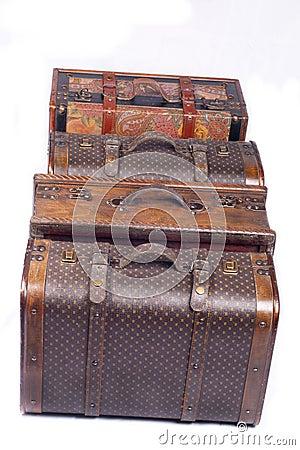 Packade resväskor