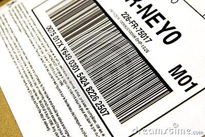 Package bar code