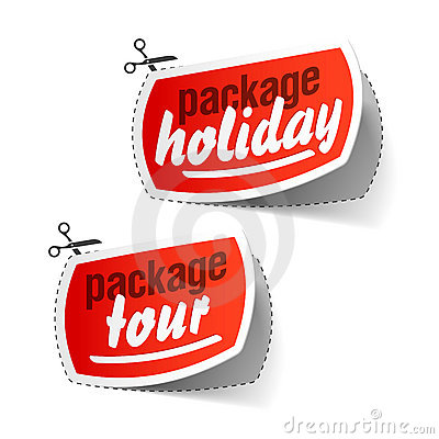 Package holiday and package tour labels