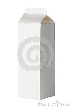 Free Package Of Milk Stock Photography - 52581732
