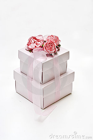 Packaging sweets gift of weddings or christmas