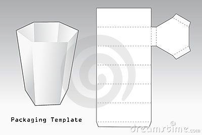 Packaging template