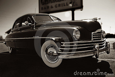 Packard Editorial Stock Image