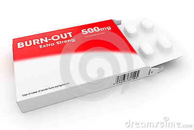 Packet Of Burn-out Tablets
