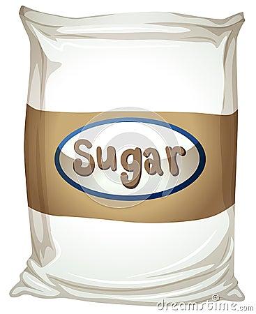 A Packet Of Sugar Stock Vector Image 41705008