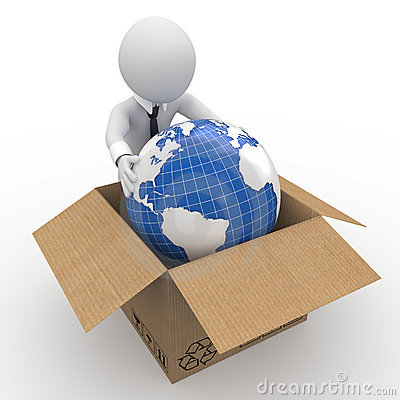 Packing up the earth