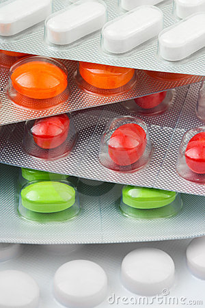 Free Packs Of Pills Royalty Free Stock Image - 6522146